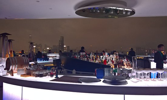 The Park Lane Hong Kong, a Pullman Hotel: rooftop bar