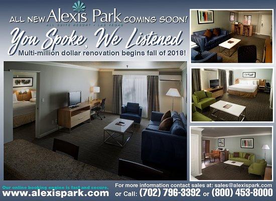 Alexis Park Resort, hoteles en Las Vegas