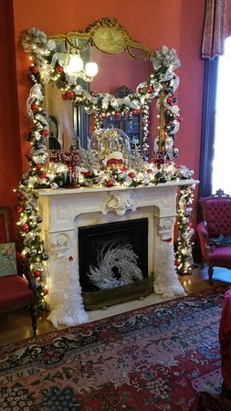 Vaile Mansion-Fireplace
