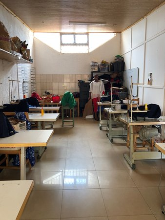 The sewing room
