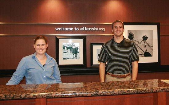 Hampton Inn Ellensburg: Reception