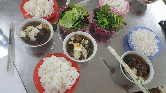 Bun Cha - Vietnamese traditional food