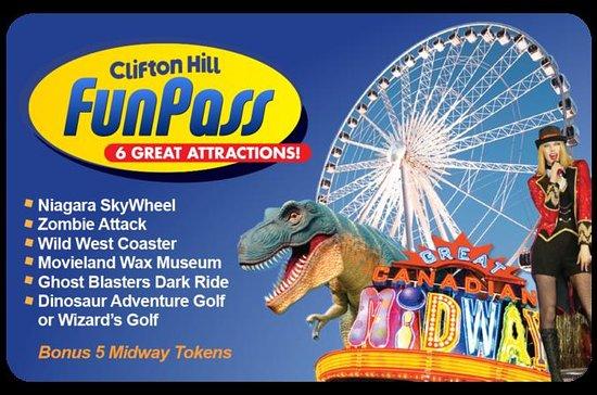 Pass «Fun» à Clifton Hill