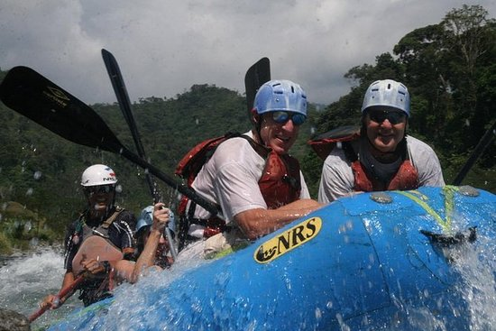 White Water Rafting on the Way to...