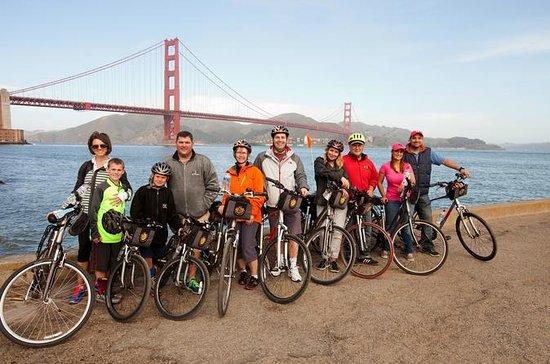 Alcatraz og Golden Gate Bridge til...