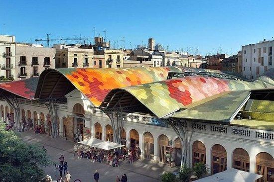 Boqueria og Santa Caterina Markets...