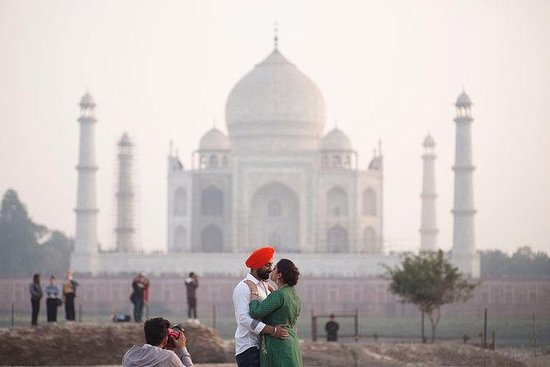 Privat Taj Mahal Soloppgang og Agra...