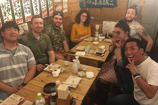 新宿夜のグルメツアー