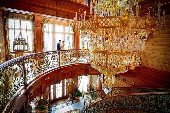 Mezhyhirya privat turné till ...