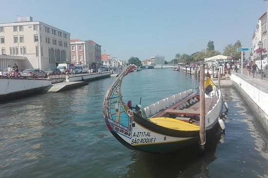 Half-Day Tour from Coimbra to Aveiro with Moliceiro Boat