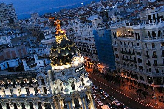 ¡Paseo a pie por Madrid esta noche! y...