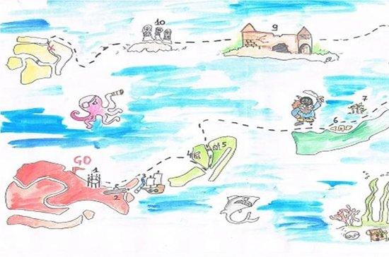 Búsqueda del tesoro de la laguna