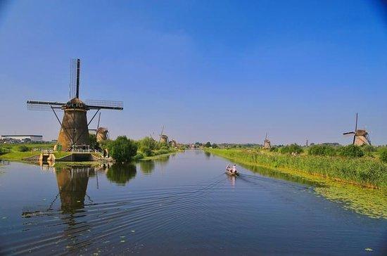Molinos de viento de Kinderdijk Medio...