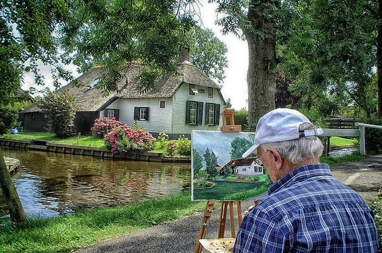 Entdecken Sie Holland an einem Tag...