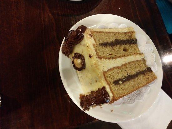 Novak's Hungarian Restaurant: Hazelnut cake, oh so good