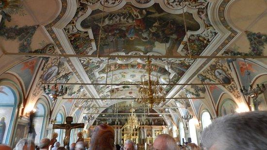 Mikheyevskaya Church: Grande soffitto
