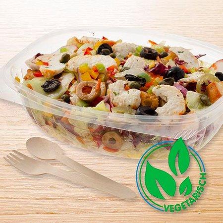 Salad gamba veggie