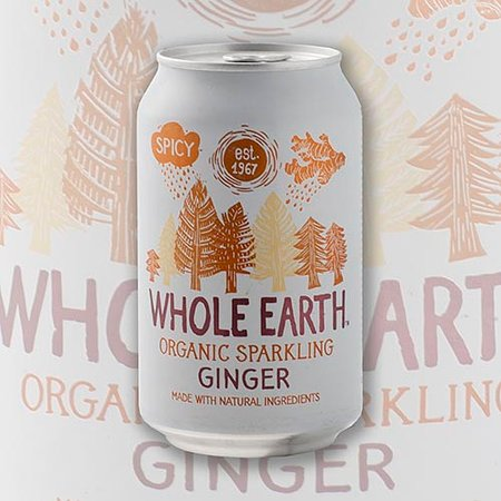 Whole Earth oragnic sparkling ginger