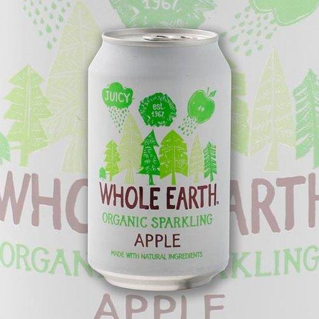 Whole Earth oragnic sparkling apple