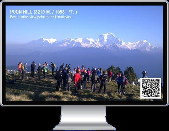 Annapurna Region, Nepal: Poon Hill Trekking Trekking to the 3210 meters Peak to view Annapurna and Dhaulagiri range of Himalayas....  #Annapurna #Poonhill #Ghorepani #NepalTrek #WelcomeHimalaya #Trekking  info@welcomehimalaya.com http://www.welcomehimalaya.com