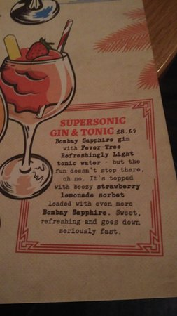 Supersonic G & T recipe