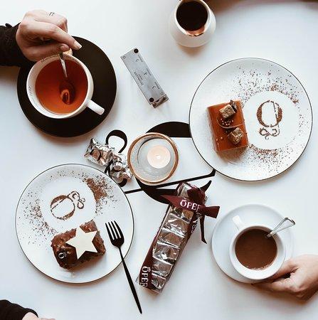 Salon de thé à l'étage