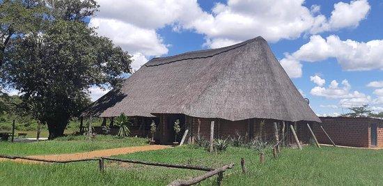 Chingola, Zâmbia: Bar cum reception