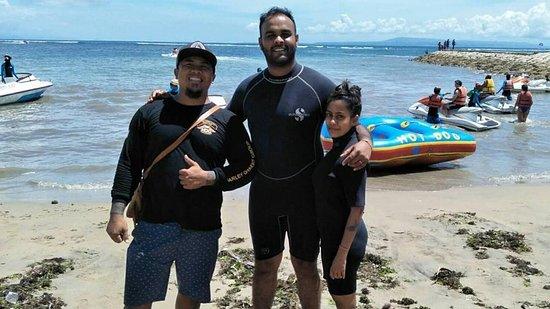 Dodiana Bali Transport: Nusa Dua Beach Bali Water Sport Tour