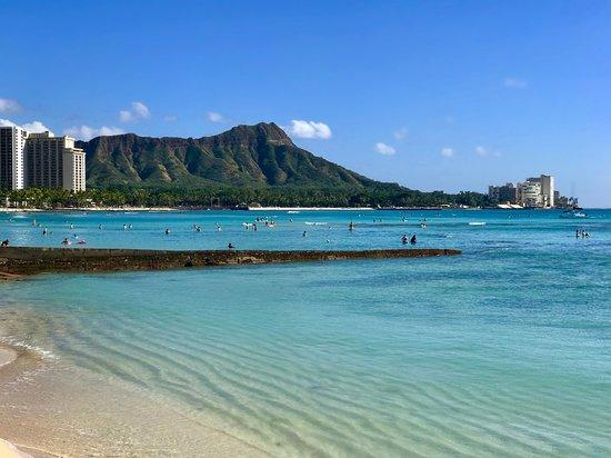 Hali`a Tours and Transportation LLC: View of Diamond Head from the Sheraton in Waikīkī.