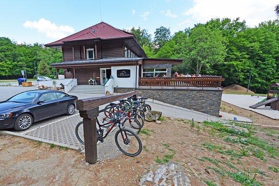 Trencin Region, Eslovaquia: bike parking