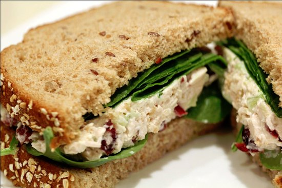 Chautauqua County, Νέα Υόρκη: Chicken Salad Sandwich