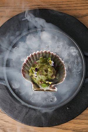 Maras Restaurante: Conchas con Citronela del menú de degustación