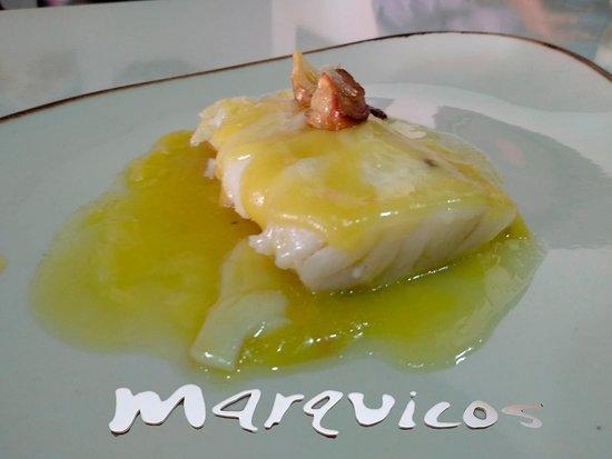 Restaurante Marquicos: Bacalao al pil-pil