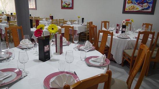 Restaurante Marquicos: Salón con capacidad para hasta 100 personas