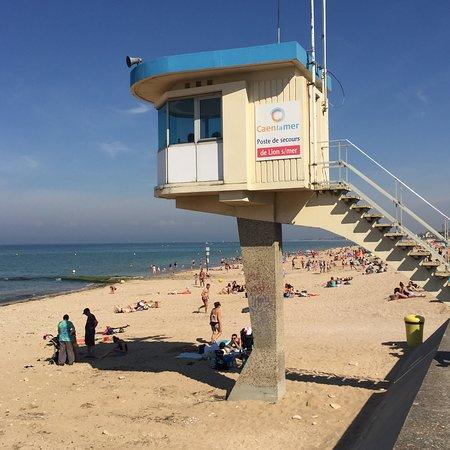 Lion-sur-mer, Francja: La plage de Lion/mer