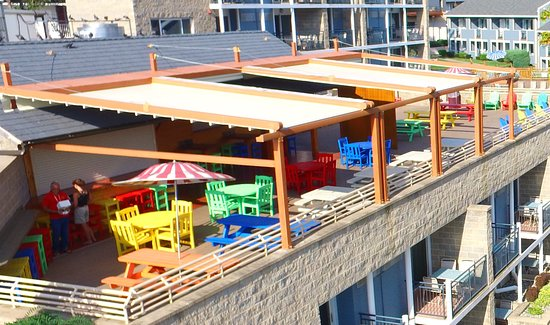 The Rooftop Cabana Bar: Restaurant Aerial View 2.