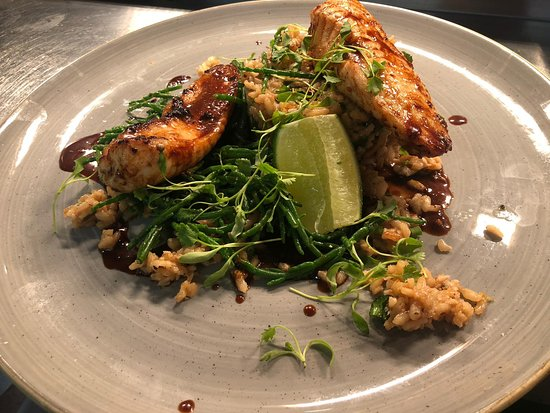 The Haseley Plough: Sold OUT !!  Satay Monkfish