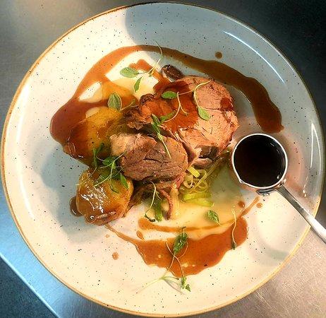 The Haseley Plough: Our best seller in December - melt in the mouth Pork Shoulder