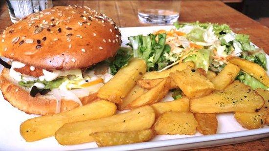 The Public House: Oh un bon burger maison !