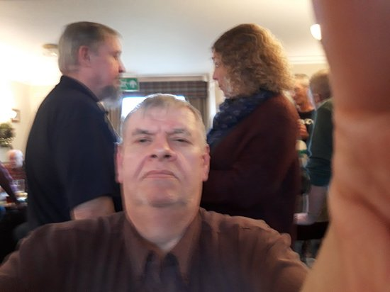 Carlton in Lindrick, UK: Men in Shed's Christmas party