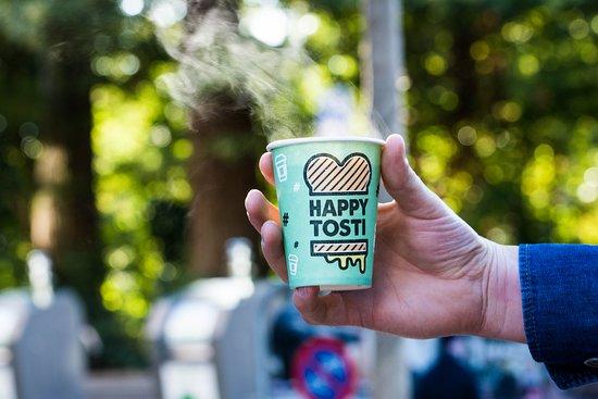 Happy Tosti Amsterdam De Pijp: Take Away Coffee