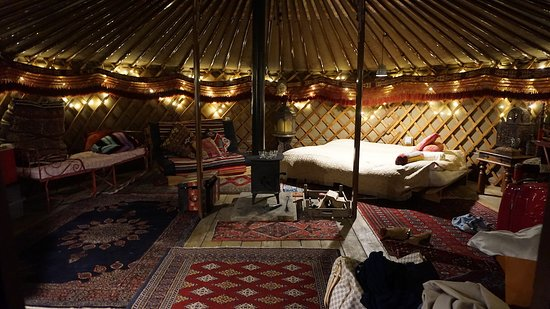 Kushti Yurt. Sleeps 2 people.