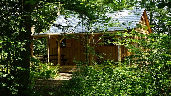 Orinoco Cabin. Sleeps 4 people.