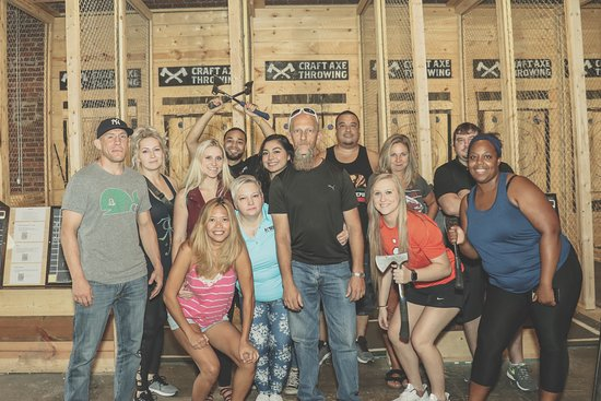 Craft Axe Throwing- Lincoln