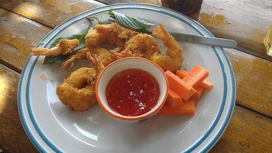 Tuesday Morning: Baignés de crevettes