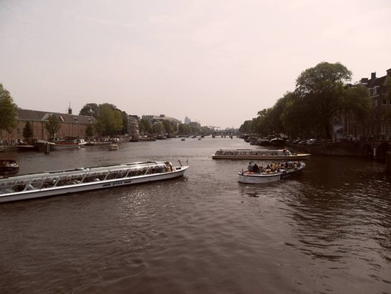 Boat City trip  on Amstel (center of Amsterdam)