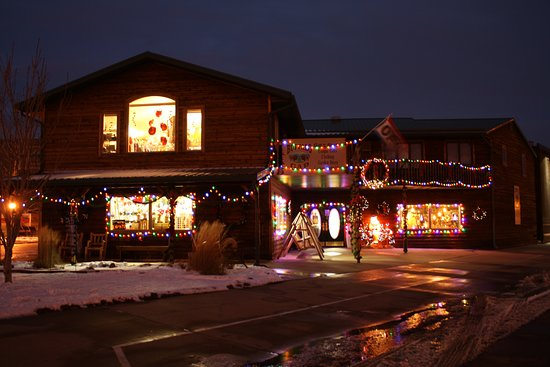 Medora, ND: Holiday Season at The Buffalo Gap Gift Shop 2017