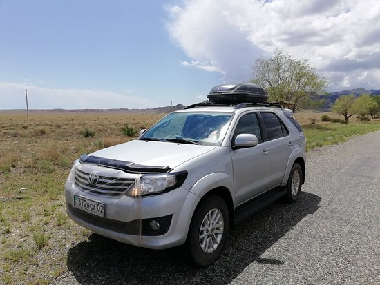 Toyota Fortuner 2016 at Altyn-Emel National Park, Kazakhstan