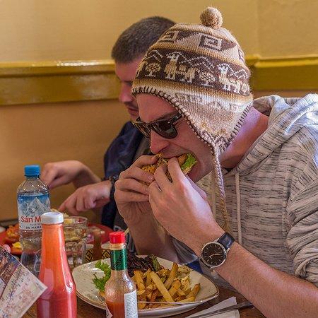 Jack's Cafe Cusco: Comidas a toda hora