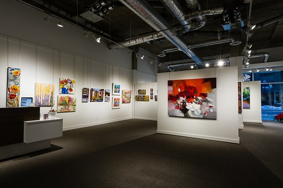 Centre gallery floor